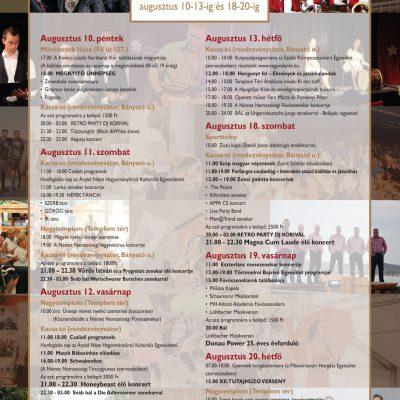 XXVII. Vörösvári Napok részletes program - vorosvarihirek.hu 39782ba643